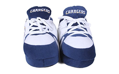 Diego LICENSED Feet Sneaker San NFL OFFICIALLY Slippers Chargers Feet Happy and Womens Mens Comfy 7HISxwqUS