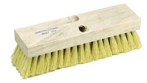 MARSHALLTOWN The Premier Line 6527 10-Inch by 2-7/8-Inch Deck Scrub Brush