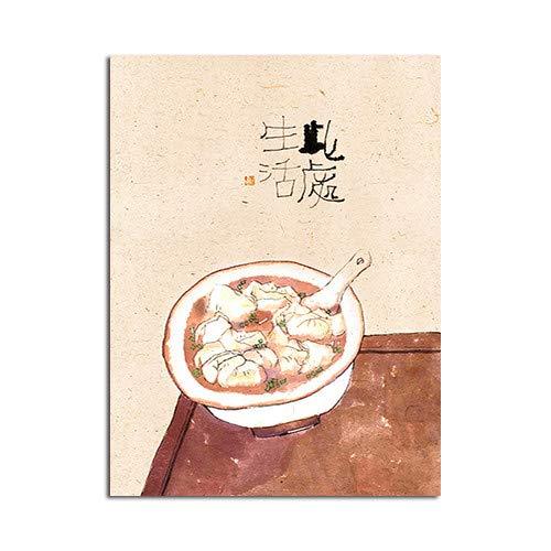 Pintura Tradicional China Bodegón de Tela Cartel Decorativo ...