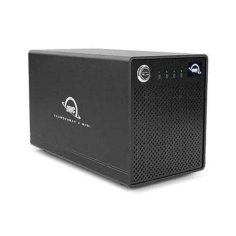 OWC Box Externo Disco Duro ThunderBay 4 Mini 2.5 4 X 2TB SSD con ...