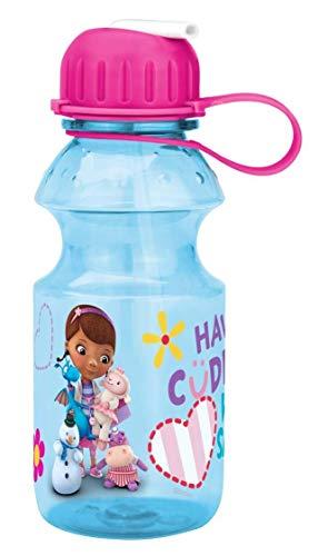 - Zak! Designs Tritan Water Bottle with Flip-up Spout with Doc McStuffins Graphics, Break-resistant and BPA-free plastic, 14 oz.