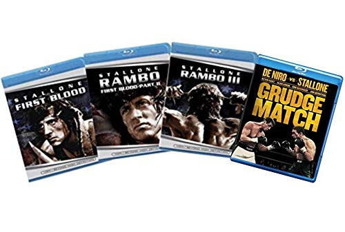Sylvester Stallone 4-Film Blu-ray Collection: First Blood / Rambo: First Blood Part II / Rambo III / Grudge Match [Bluray] (Ray Blu Rambo 3)