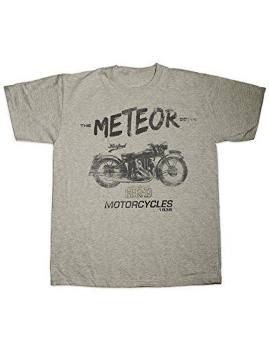 Hotfuel Men's HRD Meteor Motorcycle Print T-Shirt 2XL (Meteor Motorcycle)