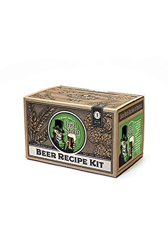 Craft a Brew Ingredient 1 Gallon Bone Dry Irish Stout Recipe Kit - Make Your Own Beer with Home Brewing -