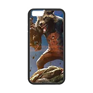 iPhone 6 Plus 5.5 Inch Case Image Of Guardians of the Galaxy Rocket Raccoon YGRDZ21466 Phone Cases Cover Plastic Personalized