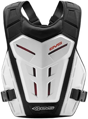 EVS Revo 4 Roost Guard-White - Ballistic Motorcycle Jersey