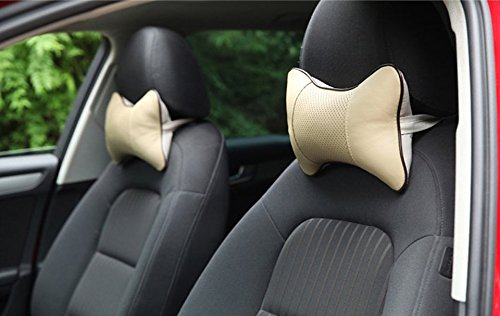 Neck Support Memory Fabric Car Neck Pillow Headrest Pillow Pad for Travel Lovely Breathe Car Auto Head Neck Rest Cushion