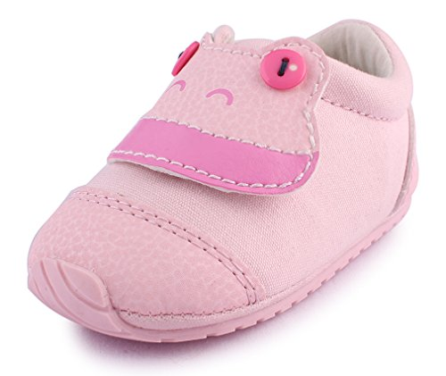 Baby Girl Pink Pram Shoes - 2