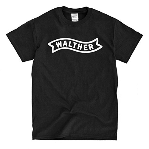 Walther Logo Black T-Shirt