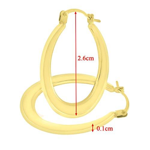 Citerna - Boucles d'oreilles - Or jaune - UER092Y