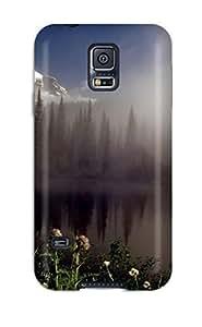 Lisa E Murphy ZdGNGDM3520xZODh Case Cover Skin For Galaxy S5 (lake)