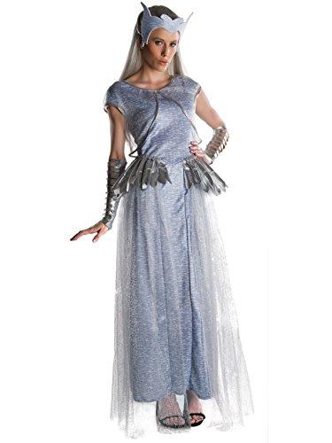 Adult Costumes Ice (Rubie's Women's the Huntsman Deluxe Freya Costume, Multi, Small)