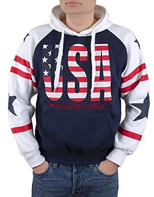 Washington DC USA Pullover Hoodie Sweatshirt