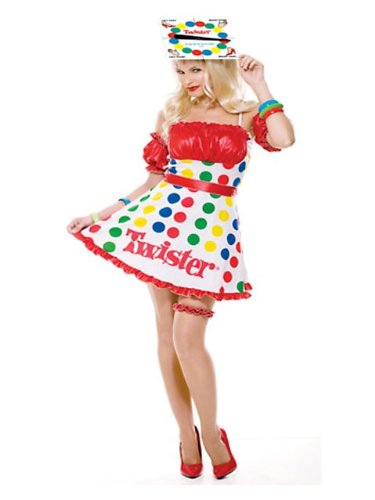 Sexy Twister Game Adult Costume