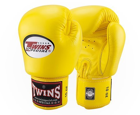 Twins Boxing Gloves 10oz Yellow - 3