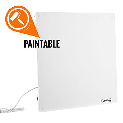 vonhaus-450w-wall-mounted-electric-flat-panel-heater-paintable-slimline-low-energy-eco-ceramic-space