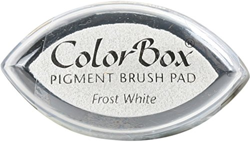 (CLEARSNAP ColorBox Pigment Cat's Eye Inkpad, Frost White)