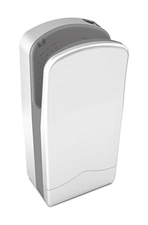 Nofer 01303.w V-Jet secador de Manos Snow White 27 x 37 x 72 cm: Amazon.es: Hogar