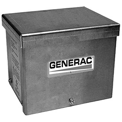 Generac 6342 20-Amp 125/250V Raintight Aluminum Power Inlet Box