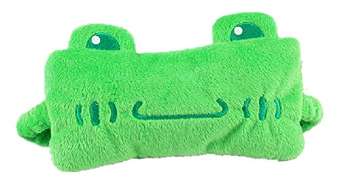 (Gent House Lovely Frog Soft Velvet Eye Sleep Mask Sleeping Eye Blinder Shade Cover, Green)