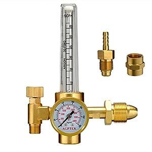 AGPtEK Argon CO2 Mig Tig Flow meter Regulator from AGPtek