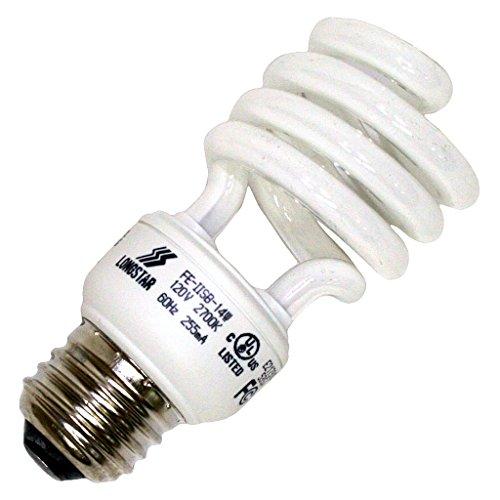 Long Star 14W 120V Warm White CFL Bulb, E26 Base ()