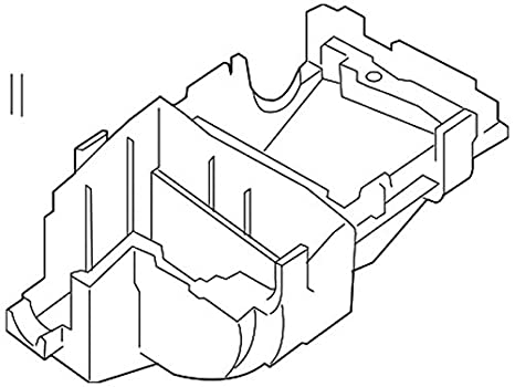 Amazon Com Genuine Nissan 284b9 Et000 Fuse Relay Box Cover Automotive