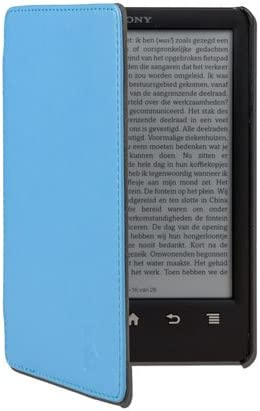 GeckoCovers - Funda tipo libro con cierre magnético para Sony PRS ...