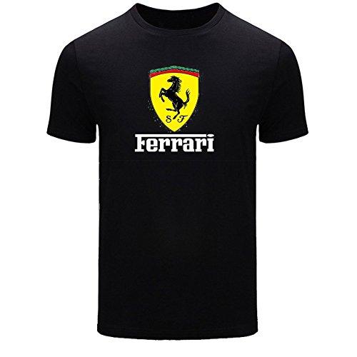 Ferrari For 2016 Mens Printed Short Sleeve tops t - Buy Ferrari Online