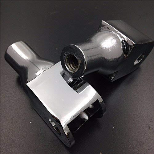 Motorcycle Front Foot Peg For Honda VTX 1800 C//F Models Shadow 1100 Sabre Aero 750 Magna 750 Honda Fury XKH