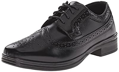 Deer Stags Ace Dress Wing-Tip Dress Comfort Oxford (Big Kid/Little Kid)