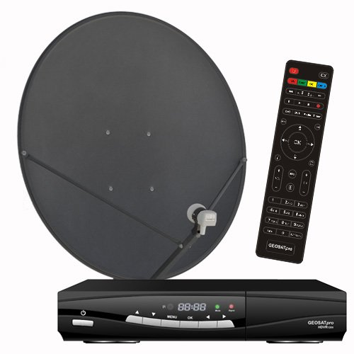 FTA Complete Glorystar Satellite One Room HD DVR - Free to Air Television by Glorystar Satellite Systems