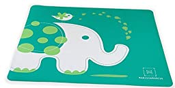 Marcus & Marcus Ollie the Elephant Silicone Baby Placemat