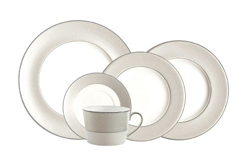 (Monique Lhuillier for Royal Doulton Etoile Platinum 5-Piece Place Setting)