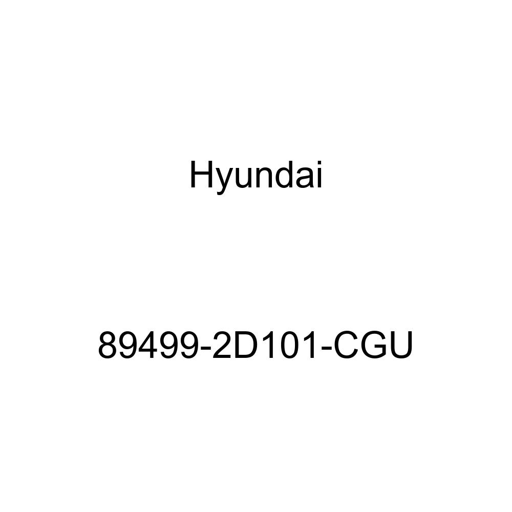 Rear Genuine Hyundai 89499-2D101-CGU Seat Back Cover Right