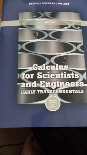 Calculus for Scientists and Engineers Early Transcendentals
