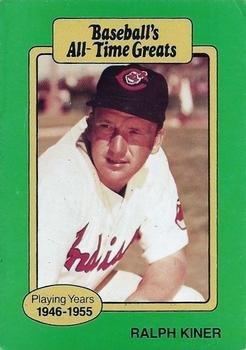 Ralph Kiner 1987 Baseball All Time Greats Baseball Card At