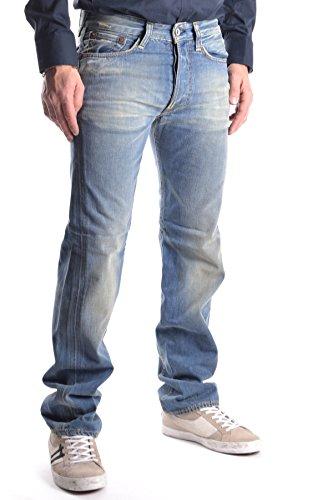Evisu Homme MCBI338005O Bleu Coton Jeans