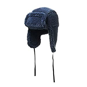 House of Fluff Faux Fur Shearling Hat-100% Recycled Post Consumer Plastic 5