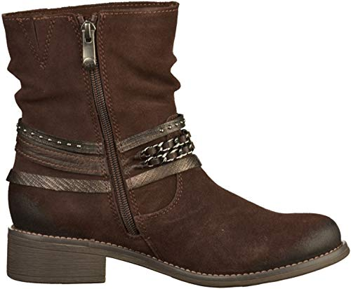 Brn Ankle Boot Tozzi 26050 Marco Suede SycgWWHK
