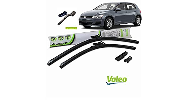 Valeo_group Valeo Juego de 2 escobillas de limpiaparabrisas Especiales para VW Golf V: Amazon.es: Coche y moto