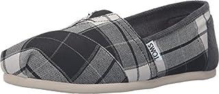 TOMS Seasonal Classics Black/White Plaid Women's Slip on Shoes 9.5 B(M) US (B018T3SHW2) | Amazon price tracker / tracking, Amazon price history charts, Amazon price watches, Amazon price drop alerts
