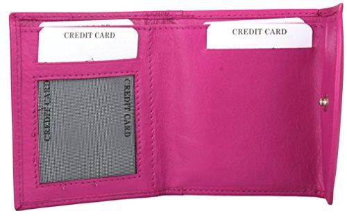 y monedas Billetero peque compartimento con damas tarjetas de o estuche cr para para y para rWrxBq80n