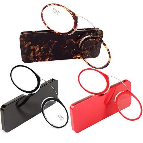 1 Couleur 0 1 5 de 5 nez 0 5 3 3 Pince style pincée Léopard 0 Nez Yefree Unisexe lunettes lecture 2 2 repose qpvwSpABx