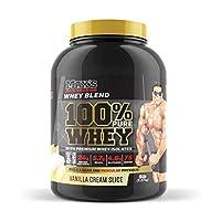 Max's 100% Pure Whey Vanilla Cream Slice Flavour Protein Powder 2.27 kg
