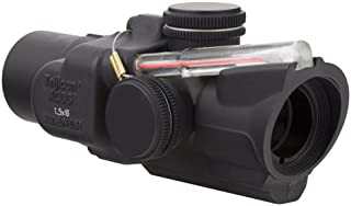 product image for Trijicon TA44-C-400241 ACOG 1.5x16S Compact Low Heightx 40mm, Dual Illuminated Red Ring & 2 MOA Center Dot Reticle, Black