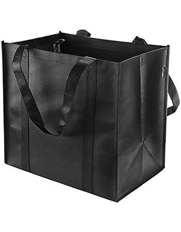 Reusable Grocery Tote Bags (6 Pack 11b709b45cbb0