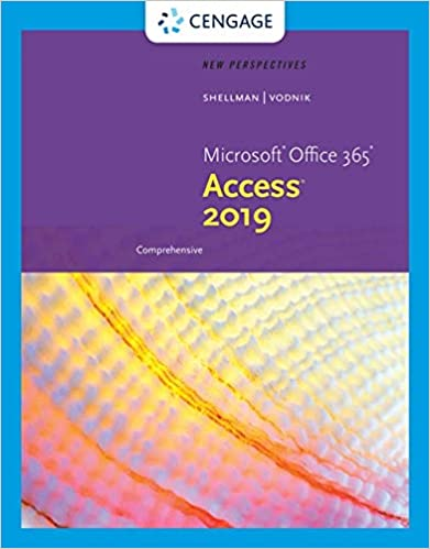 New Perspectives Microsoft Office 365 & Access 2019 Comprehensive