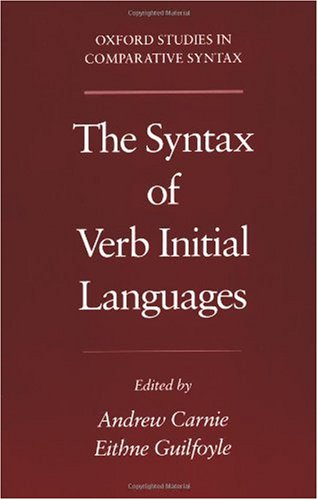 The Syntax of Verb Initial Languages (Oxford Studies in Comparative Syntax)