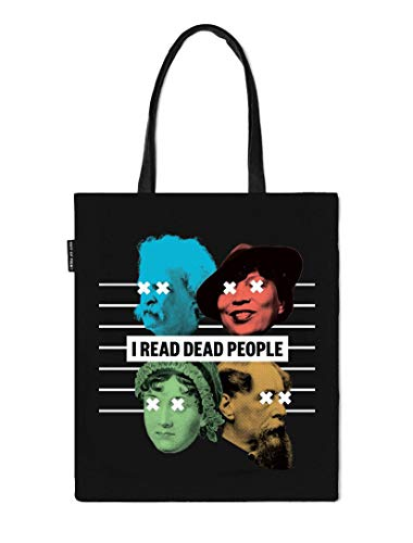 (Book Riot by Out of Print I Read Dead People Tote)